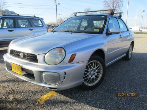 2002 Subaru Impreza for sale at NORTHEAST IMPORTS LLC in South Portland ME
