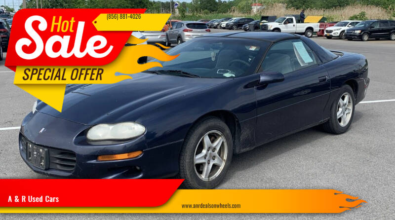 2001 Chevrolet Camaro for sale at A & R Used Cars in Clayton NJ