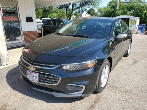 2016 Chevrolet Malibu for sale at New Wheels in Glendale Heights IL