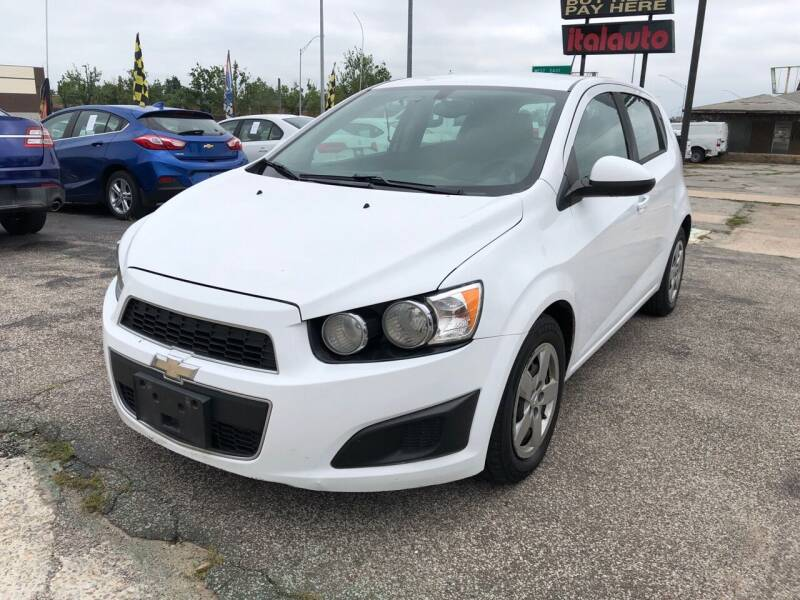 2016 Chevrolet Sonic for sale at Ital Auto in Oklahoma City OK