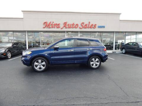 2008 Acura RDX for sale at Mira Auto Sales in Dayton OH