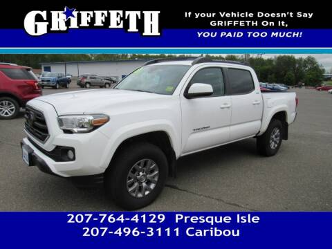 2018 Toyota Tacoma for sale at Griffeth Mitsubishi - Pre-owned in Caribou ME