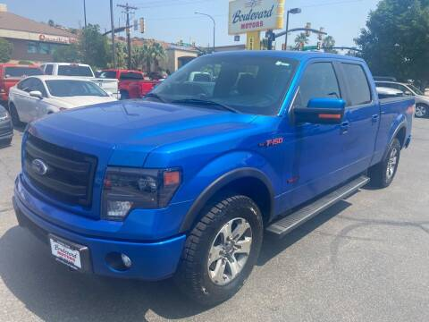 2014 Ford F-150 for sale at Boulevard Motors in Saint George UT