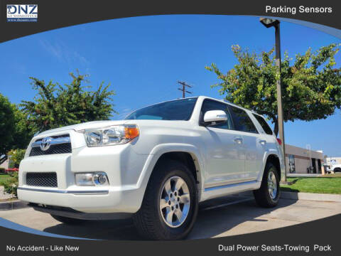 2012 Toyota 4Runner for sale at DNZ Auto Sales in Costa Mesa CA