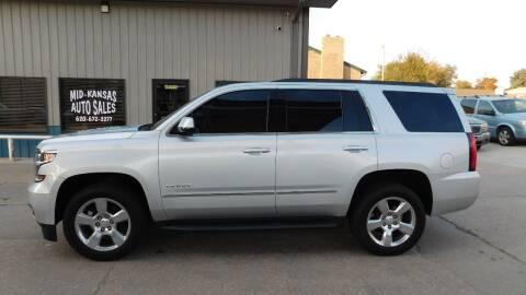 2015 Chevrolet Tahoe for sale at Mid Kansas Auto Sales in Pratt KS