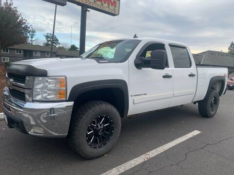 2008 Chevrolet Silverado 2500HD for sale at South Commercial Auto Sales in Salem OR