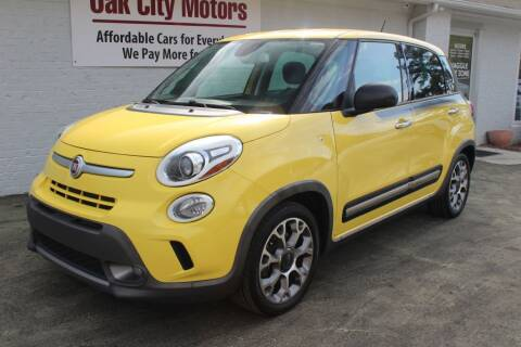 2014 FIAT 500L for sale at Oak City Motors in Garner NC