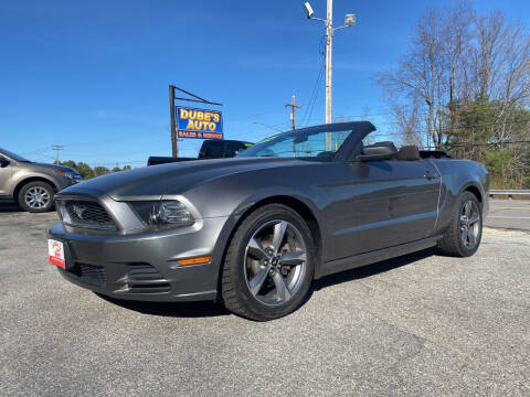2014 Ford Mustang for sale at Dubes Auto Sales in Lewiston ME