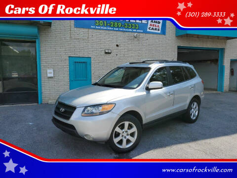 2007 Hyundai Santa Fe for sale at Cars Of Rockville in Rockville MD
