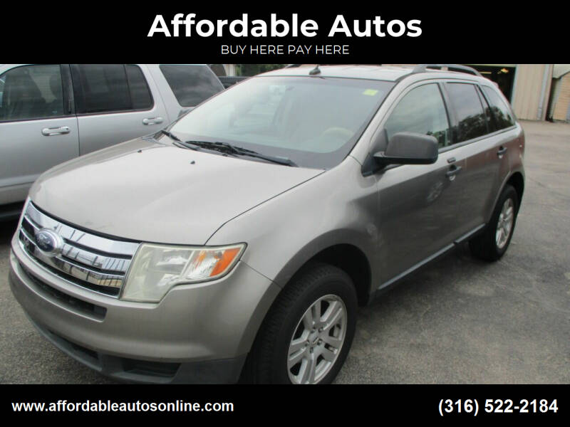 2008 Ford Edge for sale at Affordable Autos in Wichita KS