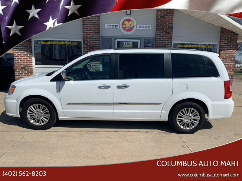 2015 Chrysler Town and Country for sale at Columbus Auto Mart in Columbus NE