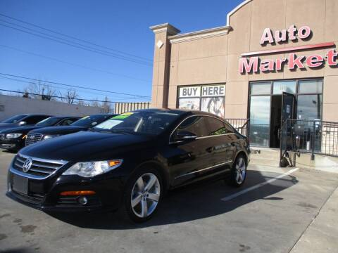 2012 Volkswagen CC for sale at Auto Market in Oklahoma City OK