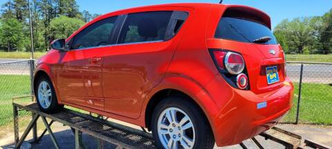 2013 Chevrolet Sonic for sale at COLLECTABLE-CARS LLC in Nacogdoches TX