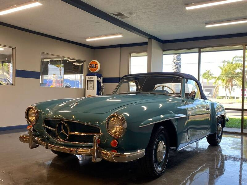 1961 Mercedes-Benz SL-Class for sale at Gallery Junction in Orange CA