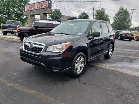 2015 Subaru Forester for sale at I-DEAL CARS in Camp Hill PA