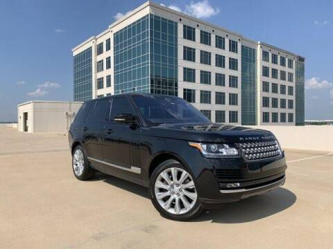 2017 Land Rover Range Rover for sale at SIGNATURE Sales & Consignment in Austin TX