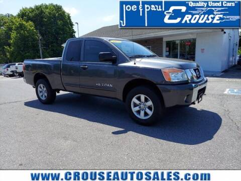 2011 Nissan Titan for sale at Joe and Paul Crouse Inc. in Columbia PA