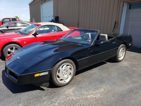 1986 Chevrolet Corvette for sale at Tumbleson Automotive in Kewanee IL