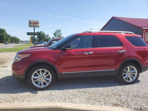 2013 Ford Explorer for sale at MIKE'S CYCLE & AUTO in Connersville IN