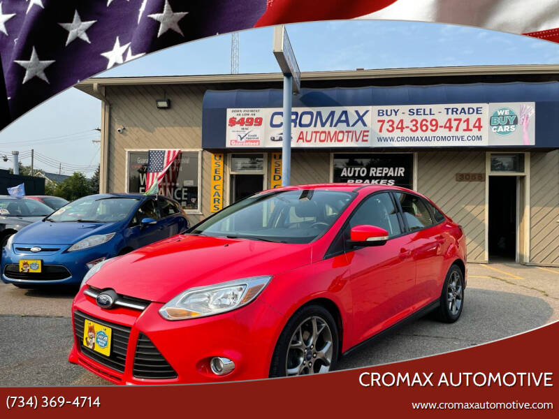 2013 Ford Focus for sale at Cromax Automotive in Ann Arbor MI