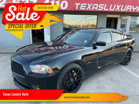 2013 Dodge Charger for sale at Texas Luxury Auto in Cedar Hill TX