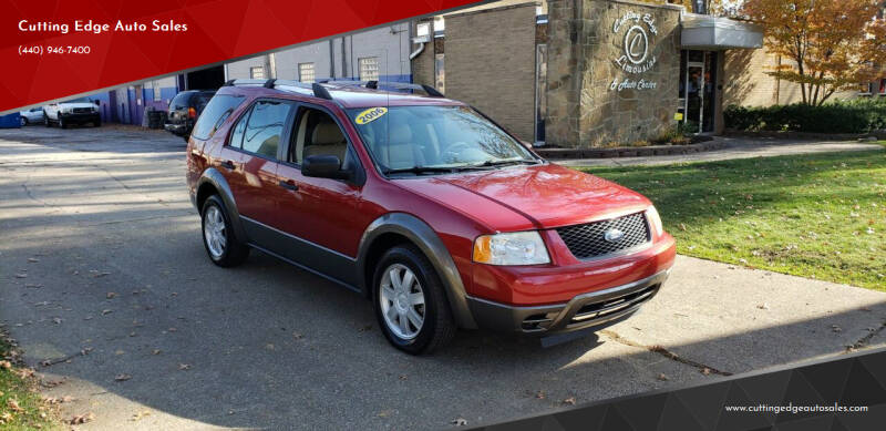 2006 Ford Freestyle for sale at Cutting Edge Auto Sales in Willoughby OH