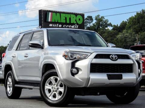 2017 Toyota 4Runner for sale at Metro Auto Credit in Smyrna GA