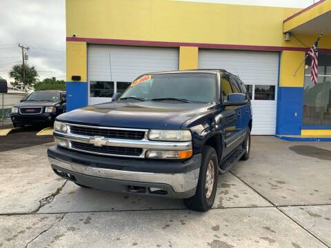 2001 Chevrolet Tahoe for sale at Mid City Motors Auto Sales - Mid City North in N Fort Myers FL