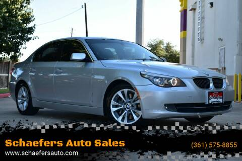 2009 BMW 5 Series for sale at Schaefers Auto Sales in Victoria TX