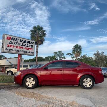 2008 Dodge Avenger for sale at Brevard Auto Sales in Palm Bay FL