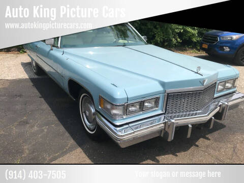 1975 Cadillac DeVille for sale at Auto King Picture Cars in Westchester County NY