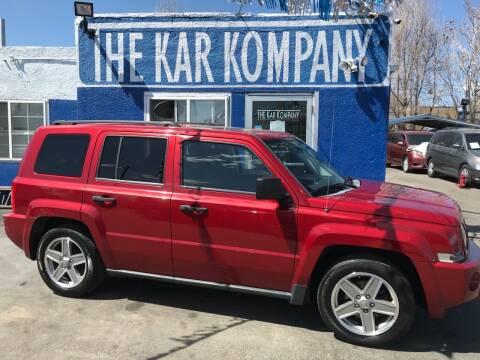 2008 Jeep Patriot for sale at The Kar Kompany Inc. in Denver CO