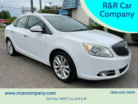 2014 Buick Verano for sale at R&R Car Company in Mount Clemens MI