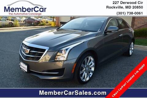 2017 Cadillac ATS for sale at MemberCar in Rockville MD