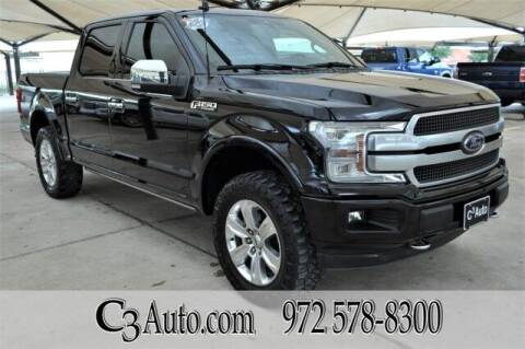 2019 Ford F-150 for sale at C3Auto.com in Plano TX