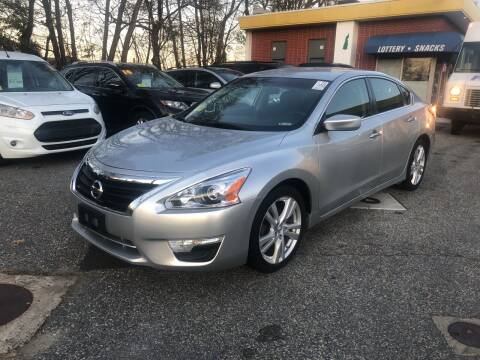 2014 Nissan Altima for sale at Barga Motors in Tewksbury MA