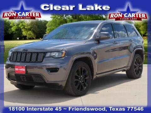 2020 Jeep Grand Cherokee for sale at Ron Carter  Clear Lake Used Cars in Houston TX