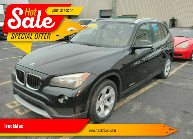 2013 BMW X1 for sale at TruckMax in Laurel MD
