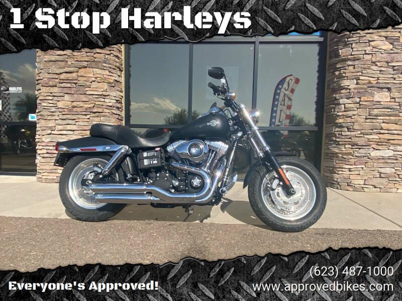 2011 HarleyDavidson DynaFatBOB for sale at 1 Stop Harleys in Peoria AZ