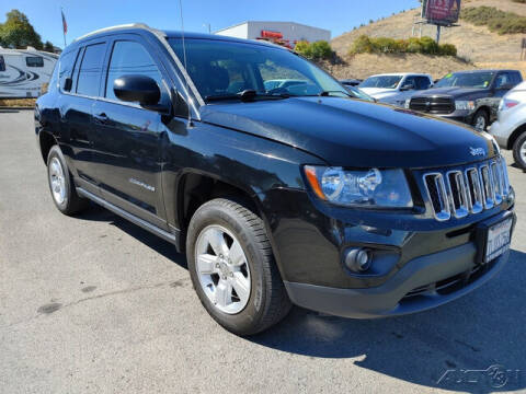 2015 Jeep Compass for sale at Guy Strohmeiers Auto Center in Lakeport CA