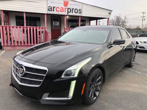 2014 Cadillac CTS for sale at Arkansas Car Pros in Cabot AR
