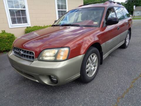2004 Subaru Outback for sale at Liberty Motors in Chesapeake VA