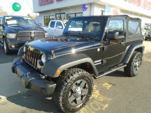 2013 Jeep Wrangler for sale at Island Auto Buyers in West Babylon NY