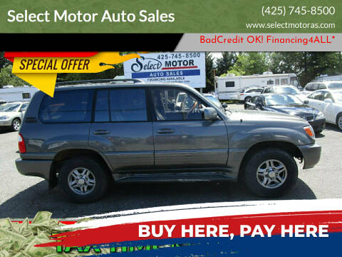 2001 Lexus LX 470 for sale at Select Motor Auto Sales in Lynnwood WA