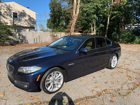 2016 BMW 5 Series for sale at Long Island Exotics in Holbrook NY