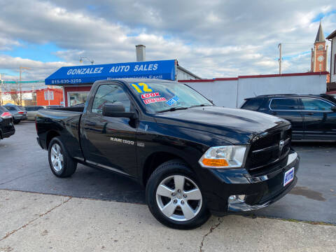 2012 RAM Ram Pickup 1500 for sale at Gonzalez Auto Sales in Joliet IL