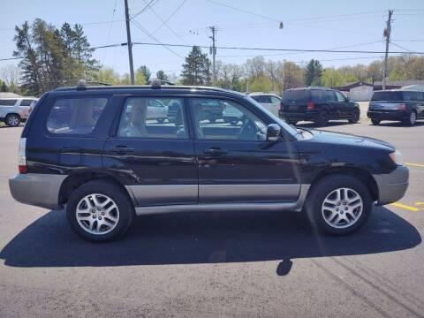 2006 Subaru Forester for sale at Hilltop Auto in Prescott MI