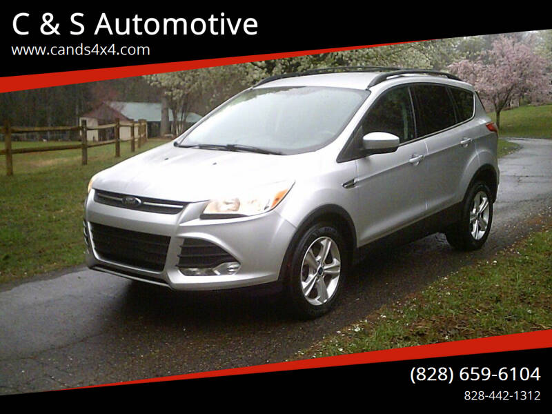 2013 Ford Escape for sale at C & S Automotive in Nebo NC