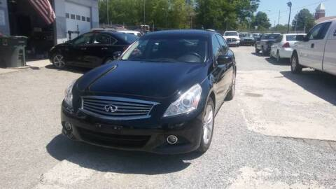 2013 Infiniti G37 Sedan for sale at Specialty Bank Liquidators in Greensboro NC