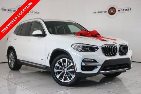 2018 BMW X3 for sale at INDY'S UNLIMITED MOTORS - UNLIMITED MOTORS in Westfield IN